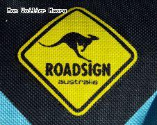Roadsign autralia, la panneau au kangourou
